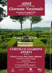 LOCANDINA 48x68 Cortili e Giardini ADSI 2016